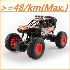 48km/h 4WD RC Monster Truck Off-Road Vehicle 2.4G Remote Control Crawler Car