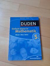 Duden Einfach Klasse in Mathematik. 5. Klasse: Wi... | Buch | Zustand akzeptabel
