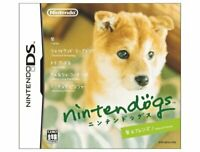 USED NintendoDS nintendogs Shiba & Friends 12120 JAPAN IMPORT