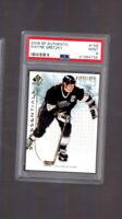 POP 1 2009-10 SP Authentic /1999 Wayne Gretzky #158 PSA 9 HOF Los Angeles Kings