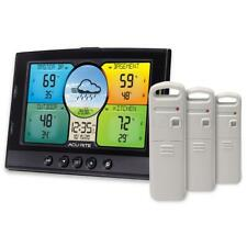 AcuRite Home Weather Station 3 Sensors Built-in Temperature Wireless Trend Lines