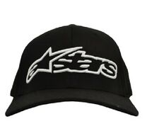 Alpinestars Logo Mens Headwear Cap -Black Adjustable