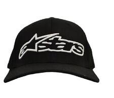 Alpinestars Logo Mens Headwear Cap -Black Adjustable