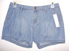 Women's ELLE Light Wash Denim Mini Shorts - Size 10 - NWT