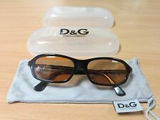 Stunning Ladies Dolce and Gabbana Sunglasses Brown Tint,Very Chic. D & G.,Case .