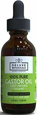 Organic Castor Oil Cold Pressed for Hair Face Skin and Nails - Moisturizer