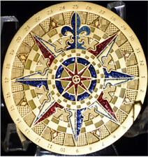 2007 Compass Rose Satin Gold U/T - NEW