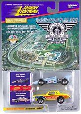 Johnny Lightning Indianapolis 500 Bobby Unser & Yellow 1975 Buick Century New