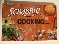 Scrabble Cooking Edition Crossword Game New Factory Sealed