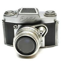 IHAGEE EXA II CAMERA WITH PRIMOTAR 50 MM F/3.5 LENS c. 1960-63
