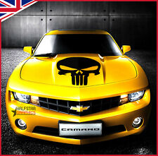 The Punisher Skull Bonnet Hood Cars Stickers Funny Graphics Decal Decoration