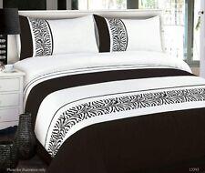 KING Quilt cover DOONA DUVET 280 TC Black White Animal Theme
