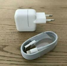 Genuine Apple 10w Charger EU + Apple USB Cable iPhone iPad Pro 9.7