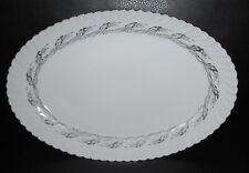 "RARE Royal Tettau Princess Platter Pearl Grey 13-1/2"""