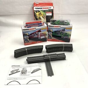 Power Trains 2.0 Combo - New Car Carrier and Freight engine +open figure 8 track