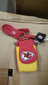 Kansas City Chiefs Purse Plus Touch Phone  ID Wallet Charm 14 Gift Bag Compact