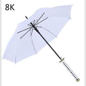 New Japanese Sword Umbrella men women family big folding windproof automatic