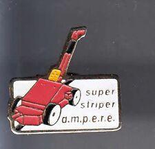 RARE PINS PIN'S .. AGRICULTURE TRACTEUR TRACTOR SUPER STRIPER AMPERE ~BF