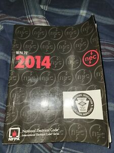 NEC 2014 national electrical code book NFPA70.  New not marked in.