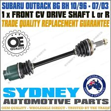 1 New Front CV Joint Drive Shaft For Subaru Outback BG BH 96-03 with ABS