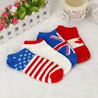 1Pair Men Fashion Ankle Socks Low Cut Crew Socks Casual Sport Color Cotton Socks