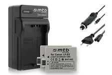 2x Baterìas LP-E5 + Cargador para Canon EOS 450D, 500D, 1000D
