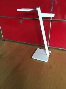 Nimbus Roxxane Leggera 52 CL LED Tischleuchte Akku Weiß NP ca.500,- wie neu!