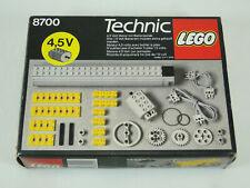 Lego Technic 8700 Motorset 4,5 V komplett mit Anleitung OBA und OVP
