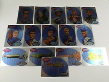 Thunderbirds Cards Inc 2001 Trading Cards - Complete set of 15 Foil Chase Cards