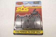SBS 509H.CT, 1721-0215 Carbon Tech Brake Pad Set NOS