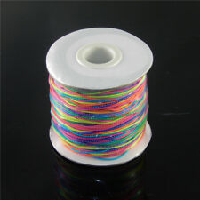 5 Metres Round 1 mm Colorful Elastic Cord Thread String For Bracelet Necklace