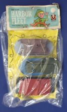 Ringo Harbor Fleet Boat Set Hard Plastic NOS 60s Ferry Side Wheeler House Boat