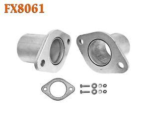 """FX8061 2 1/8"""" Semi Direct Fit Exhaust Muffler Pipe Flange Repair Kit w/ Gasket"""