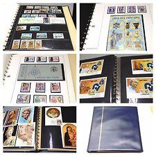Vaticano Briefmarken Sammlung Foroyar u. Vatikanstaat Poste Vaticane post stamps