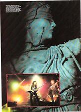 METALLICA Kirk on Justice tour magazine PHOTO / mini Poster 11x8 inches
