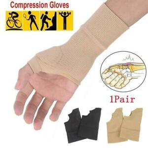 Wrist Hand Support Gloves Elastic Brace Sleeve Sports L6H2 Bandage O4T0