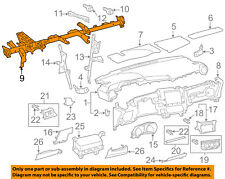 Scion TOYOTA OEM 08-14 xD Instrument Panel Dash-Storage Box 5544152140B0