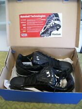 Reebok High-N-Tight II Mid Hex Metal Baseball Cleats, Size 13 1/2, FREE SHIPPING