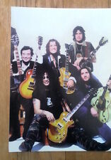 SLASH JIMMY PAGE JOE PERRY axe men magazine PHOTO/Poster/clipping 11x8 inches