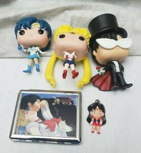 Sailor Moon case, magnet, Funko lot