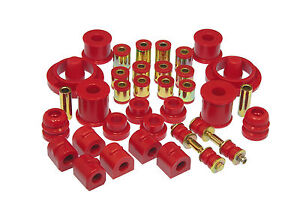 PROTHANE Total Complete Suspension Bushing Kit Ford Focus & SVT 00-06 (RED)