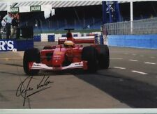 Luca Badoer Ferrari F1 Testing 2001 Signed Photograph 2