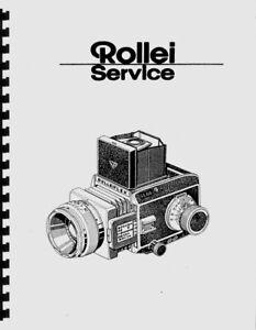 Rollei SL66 SL-66 Service & Repair Manual Reprint (English, German)