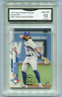 2020 Bo Bichette Topps National Card Day Preview Rookie Gem Mint 10 #UP1