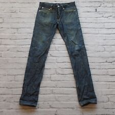 APC Distressed Petit Standard Selvedge Denim Jeans Size 30 Destroyed