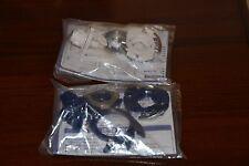 Takara Beyblade Slash Riger MS (Metal Scratch) HMS Brand NEW 2 PCS White & Blue