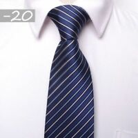 Men's Jacquard Woven  Tie Necktie Business Wedding Party Ties 8CM