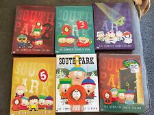 South Park Seasons 2, 3, 4, 5, 8, 9 On Dvd. Season 9 Nib
