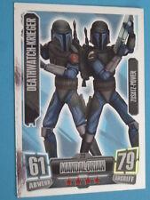 Force Attax Clone Wars Serie 2, Deathwatch-Krieger (223), Zusatz-Power
