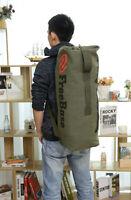 Vintage Canvas Men's Backpack Travel Sport Rucksack Satchel School Hiking Bag